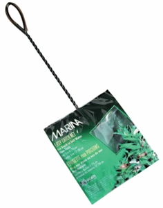 "(A1265) Marina 6"" Black Coarse Nylon w/12"" Handle"