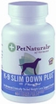 Pet Naturals K-9 Slim Down Plus� For Dogs 60 Tabs