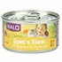 Halo Spots Stew For Cats Wholesome Turkey Recipe Canned Cat Food 12 - 5.5 oz Cans