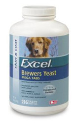 8 in 1 Brewers Yeast Mega-Tabs with Garlic Large  (216 tablets)