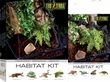 Exo-Terra Rainforest Habitat Kit, Medium (includes PT2607)