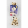 Aspen Yummy Rope Dog Bone Toy, Peanut Butter- Medium