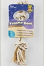 Aspen Yummy Rope Bone Peanut Butter- Large