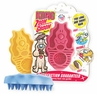 Kong Zoom Groom Brush Boysenberry