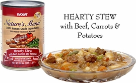 Evolve Hearty Stew Dog Food (10 oz / case of 12 )