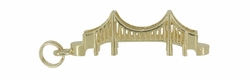 Golden Gate Bridge Charm in 14 Karat Gold