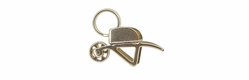 Movable Wheelbarrow Charm in 14 Karat Gold