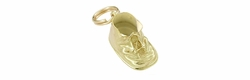 Vintage Baby Shoe Charm in 14 Karat Gold