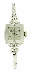 Lady Hamilton Watch in 14K White Gold