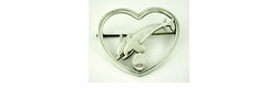 Georg Jensen Brooch in Sterling Silver