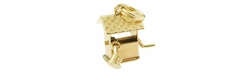 Movable Wishing Well Charm in 14 Karat Gold