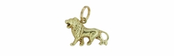 Lion Charm in 14 Karat Gold