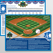 Baseball Field & Home Run Derby Chart