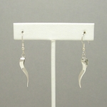 Ogee Twist Earrings (sterling silver)