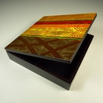 Brazilian Jewelry Keepsake Box (stripes)