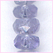 Tanzanite Faceted Roundellle TF 3
