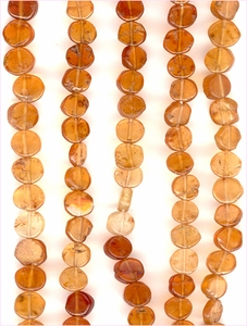 Hessonite Garnet Coins