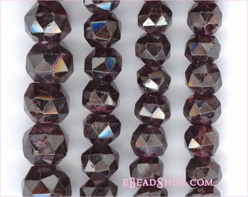 Garnet Faceted Round<br>7 to 8 mm