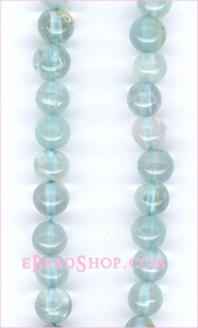 Aquamarine Round 3 - 4 mm