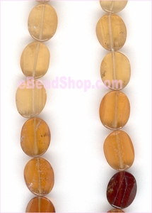 Hessonite Facetted Oval (Machine Cut)