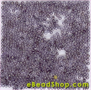 Seed Bead Ligh tAmethsy Silver Lined