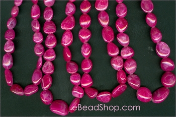 Ruby Pink Oval 8x10 mm