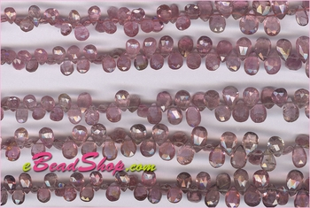 Pink Tourmaline Pear Shape<br>3x5 to 5x8 mm