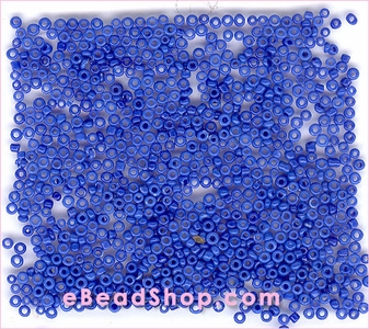 Seed Bead Royal Blue Opaque