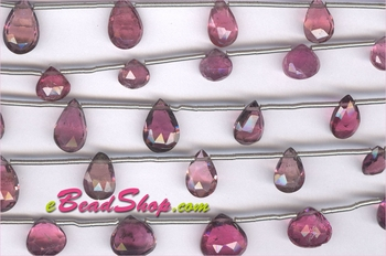 Pink Tourmaline Pear Shape<br>4x7 to 5x8 mm