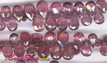 Pink tourmaline Pear shape AAA<br>6x10 to 7x12 mm