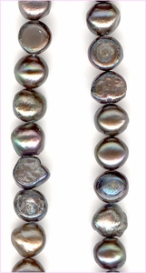 Pearl Grey Irregular<br>7 x 6 mm