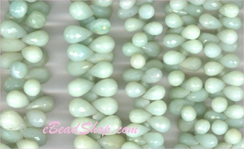 Blue Opal Briolettes<br>4x8 to 6x12 mm