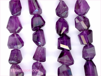 Amethyst Faceted Nugget