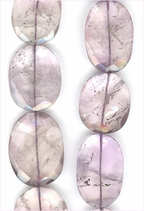 Amethyst Factted Oval
