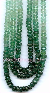 Emerald Facetted Roundell<br>