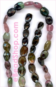 Tourmaline Faceted Oval  5 - 7 mm
