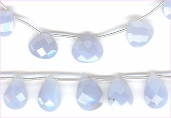 Blue Chalcedony Tdrops