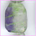 Flourite Flat Faceted  Nuggets