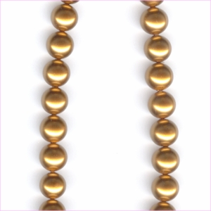 Copper Shell Pearls<br>10 mm
