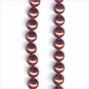 Dark Brown Shell Pearls