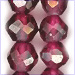 Garnet Faceted Round A color 4-6 mm