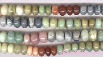 Mixed Opal Roundell<br>8 to 10 mm