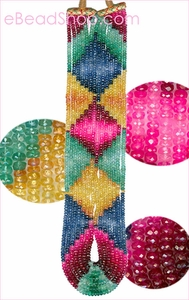 Multi-Color Precious Facetted<br>3 to 5 mm