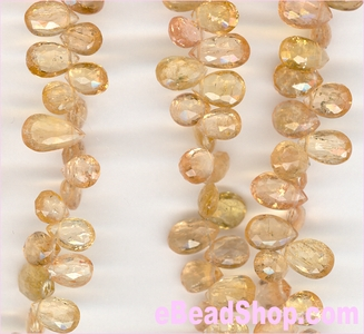 Imperial Topaz Faceted Pear 5x7