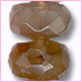 Andulasite Faceted Roundelle<br>5-6mm