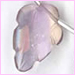 Ametrine Carved Faceted Leaves