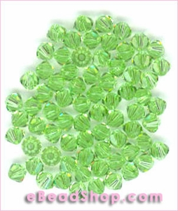 Swarovski  Beads Peridot  4 mm  #214