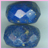 Lapis Faceted Roundel <br> 4- 6mm AAA