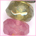 Tourmaline Faceted Rondelle  3 to 4 mm AA-Grade