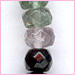 Tourmaline  Faceted Roundel 4 mm